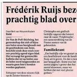 Frédérik Ruijs bezorgt Zeist prachtig blad over historie