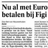 Nu al met Euro's betalen in Figi